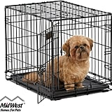Midwest iCrate 24-Inch Folding Metal Dog Crate With Divider Panel