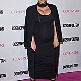 Kim Stepped Out in a Hardly Basic LBD