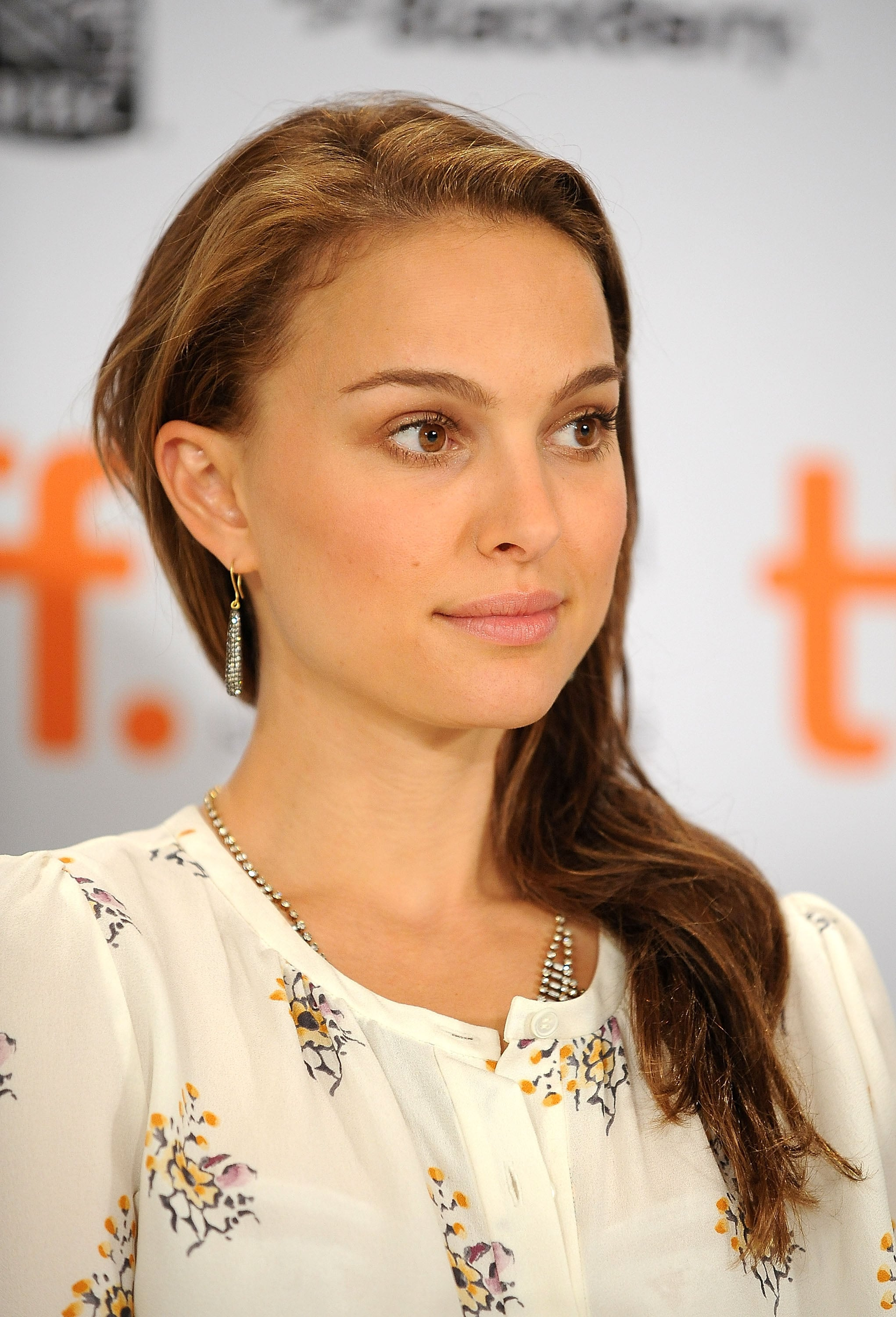 Photos of Natalie Portman Promoting Love and Other ...