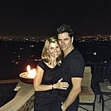 """Lori: """"Always fun hanging with the tv hubby @johnstamos. Thanks for a great night @fullhouseguy. Aka Jeff Franklin"""""""