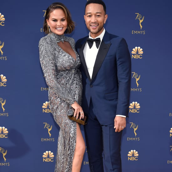 Chrissy Teigen's Zuhair Murad Dress at the 2018 Emmys