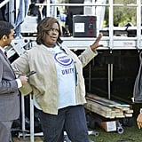 Donna (Retta) tells guest star Ginuwine what's on her mind.