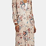 ICONS Objects of Devotion Floral Chiffon Caftan Dress