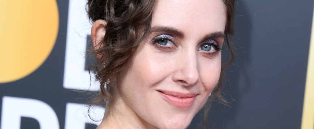 Alison Brie Golden Globes Hair