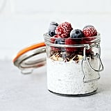 Overnight Yogurt Chia Pudding Parfait