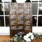 Custom Wood Wedding Seating Chart