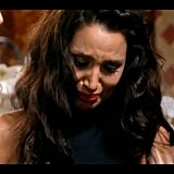 Snezana cries for her best mate Nina.