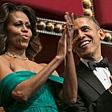 The Obamas Go Glam to Honor Art Icons