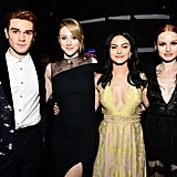 Pictured: KJ Apa, Lili Reinhart, Camila Mendes, and Madelaine Petsch