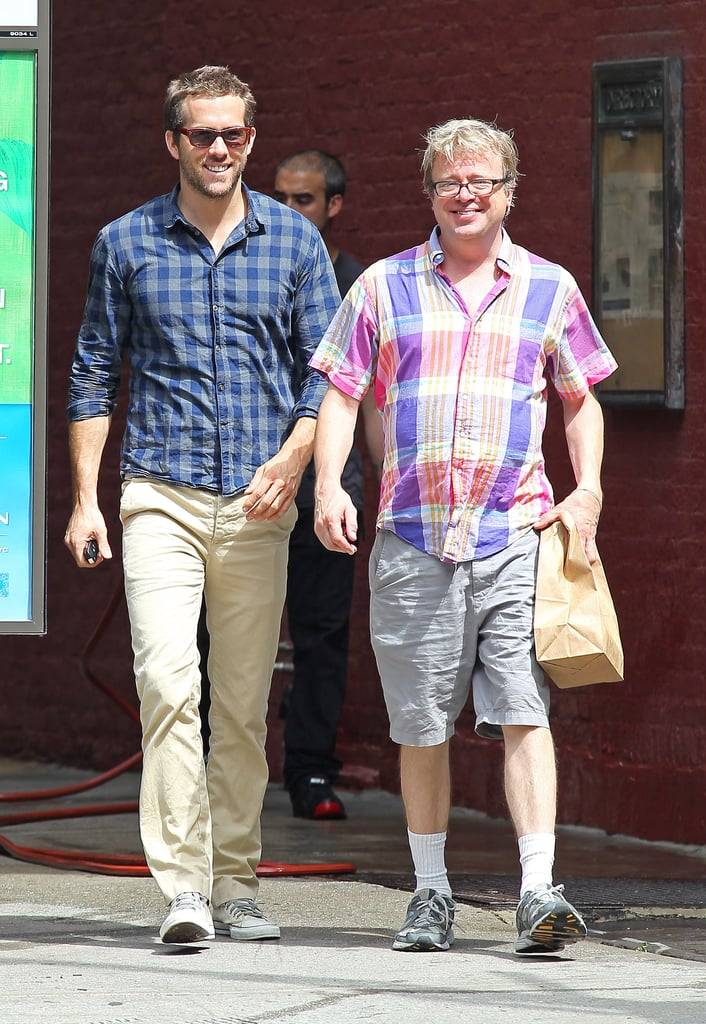 Ryan Reynolds Goes Scruffy Sexy in Sunny NYC