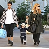 Joey Maalouf shopped with Rachel Zoe and Skyler Berman.