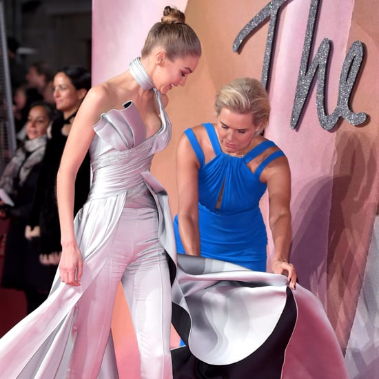 Gigi Hadid and Yolanda Hadid at the British Fashion Awards