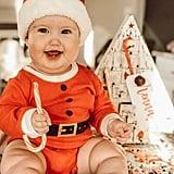 Baby Dressed as Elf on the Shelf 2018