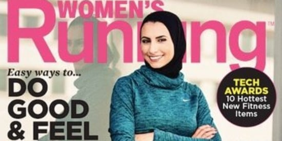 Meet The First Hijabi Woman To Grace The Cover Of A U.S. Fitness Mag