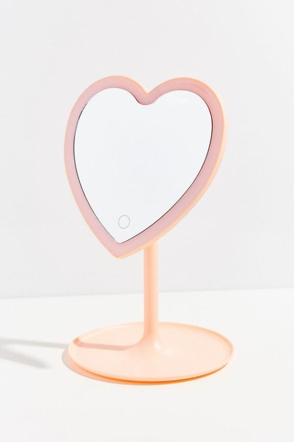 Heartbeat Makeup Mirror