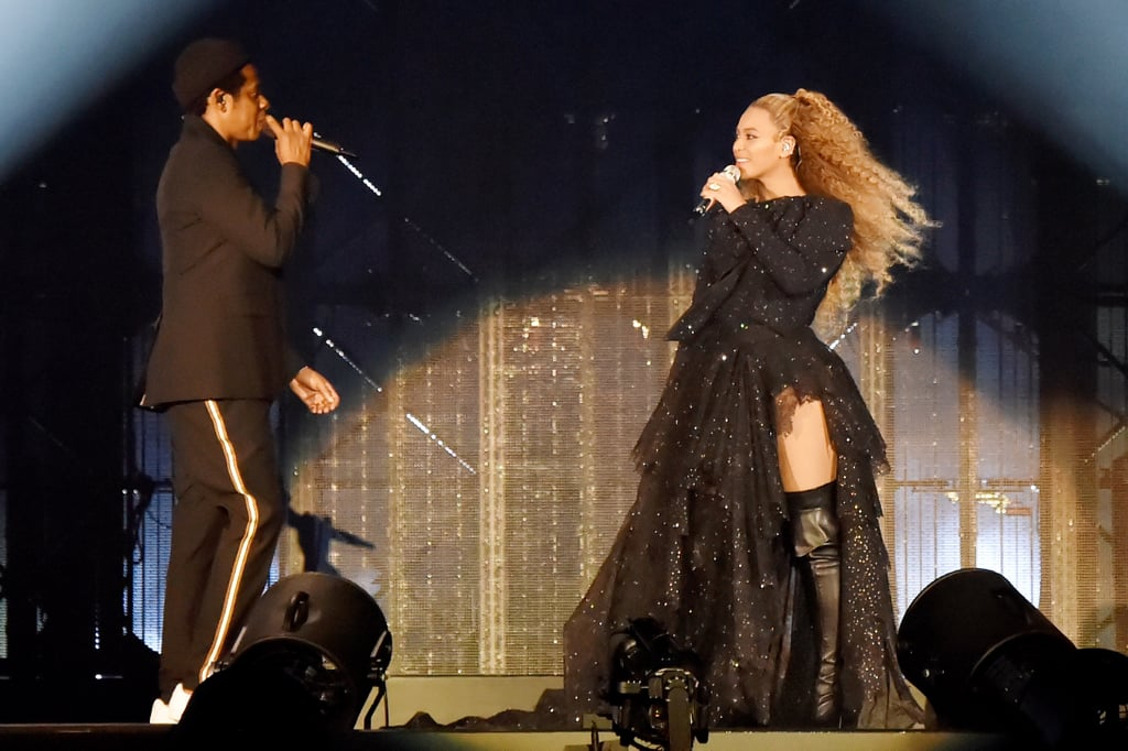 Beyoncé Wore a Custom Givenchy Look That the Couple Helped Design