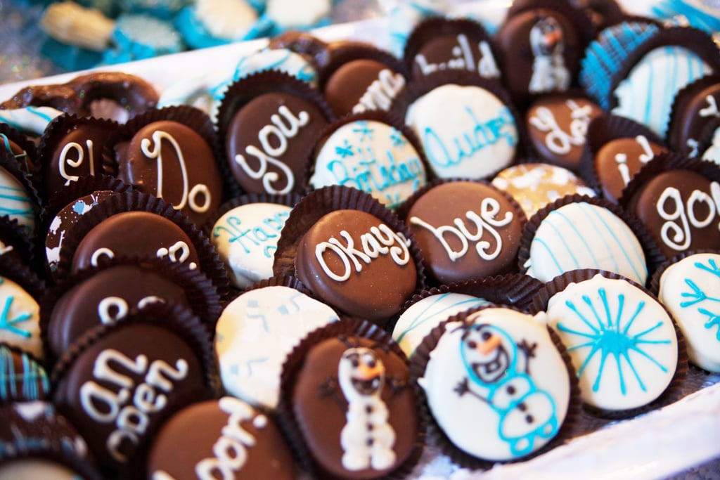 There was no shortage of sweets at this party, but some of the cutest desserts were these Frozen-themed cookies. Covered in chocolate and character decorations, these tasty treats were as cute as they were scrumptious.