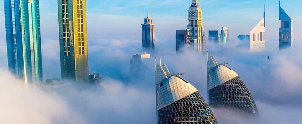 Fog in Dubai 2018