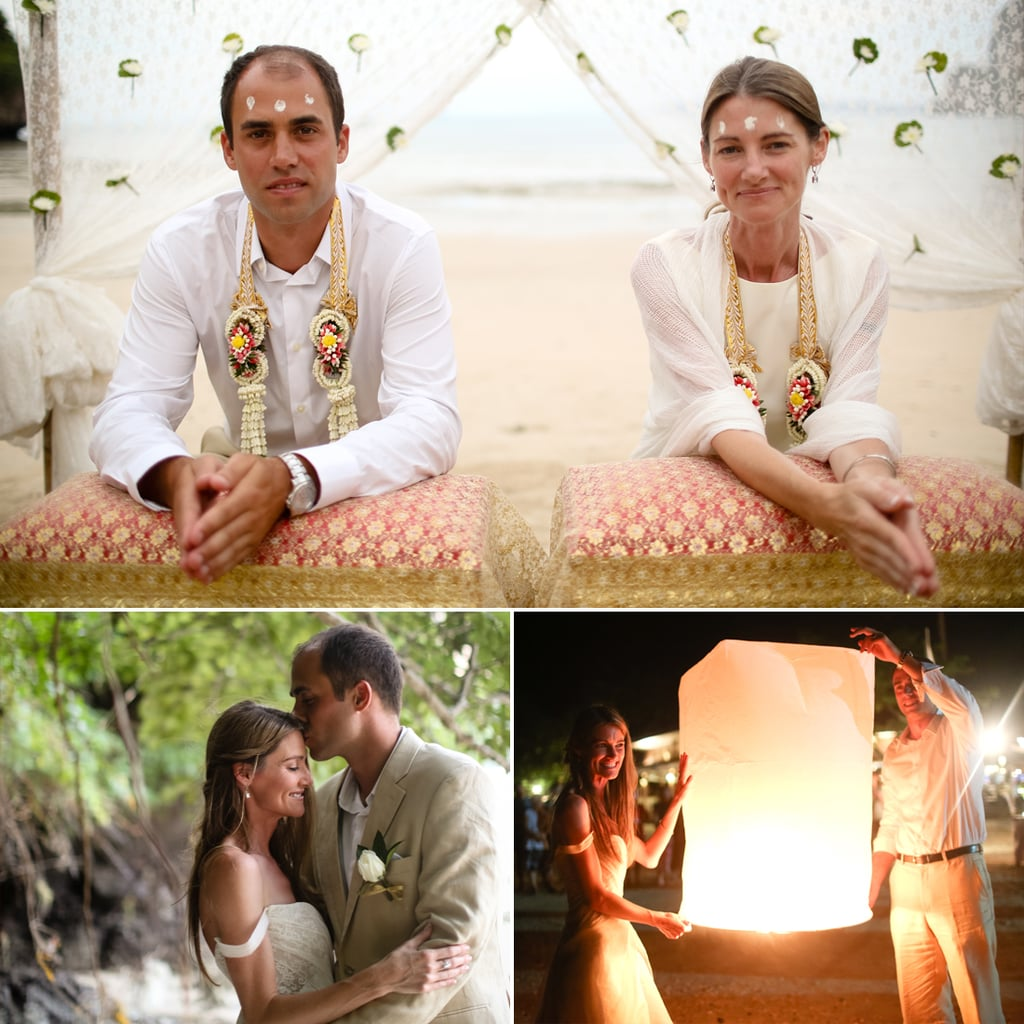 Buddhist Beach Wedding in Thailand