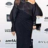 Donna Karan at amfAR's New York Gala.