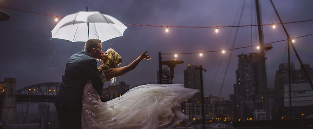 If You Love Gloomy Weather, You'll Adore This Gorgeous Rainy Wedding