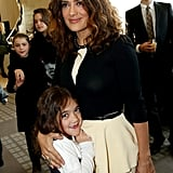 Watch Salma Hayek's Adorable Daughter, Valentina, Grow Up Before Your Eyes