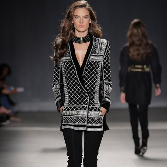 Alessandra Ambrosio Models the Balmain H&M Collection in NYC