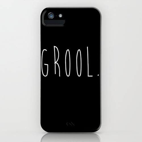 Grool iPhone/Galaxy S5 cover ($35)