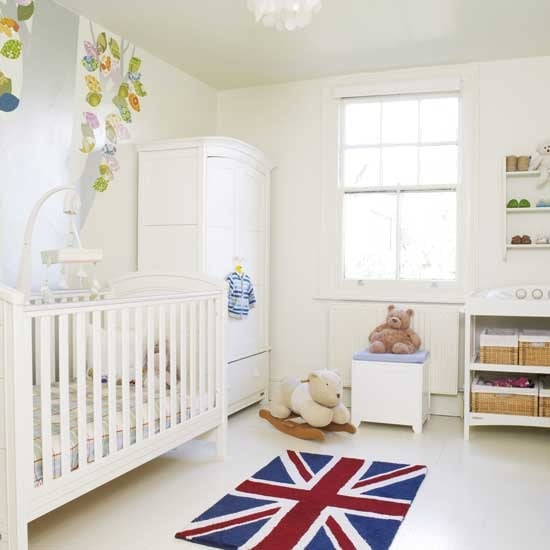 Patriotic White Nursery