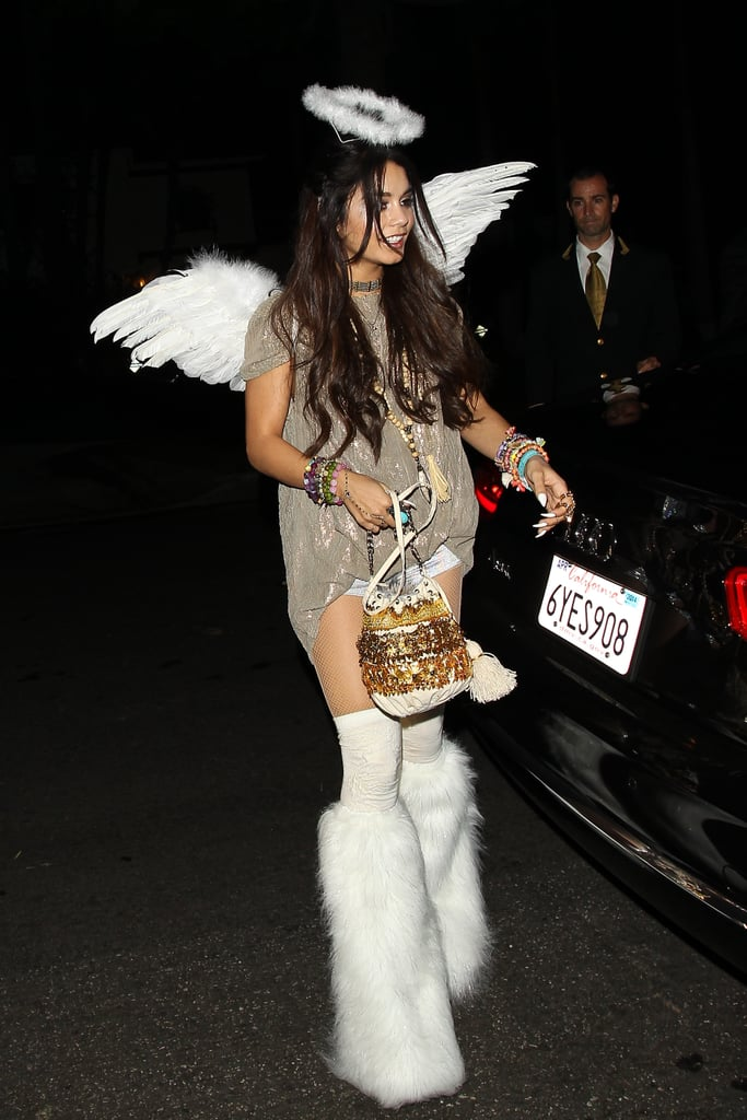 In 2013, Vanessa Hudgens outfitted a unique play on an angel for a ...