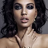 The Look: Dynamic Black Smoky Eyes and High-Gloss Lips