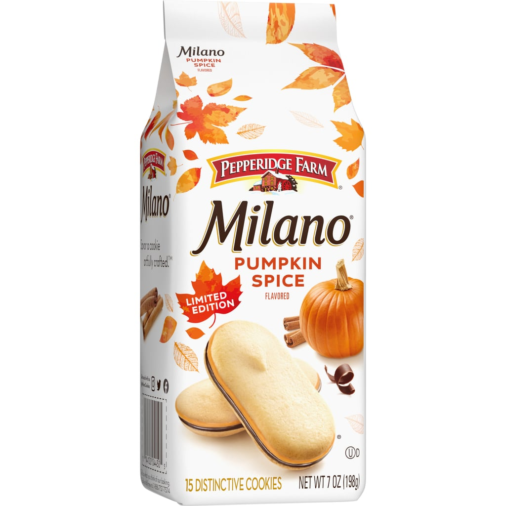 Milano Pumpkin Spice Flavored Cookies