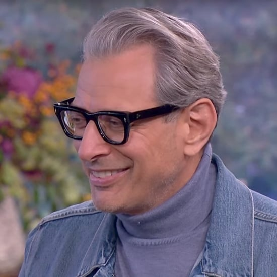 Jeff Goldblum Flirting With TV Reporter Video