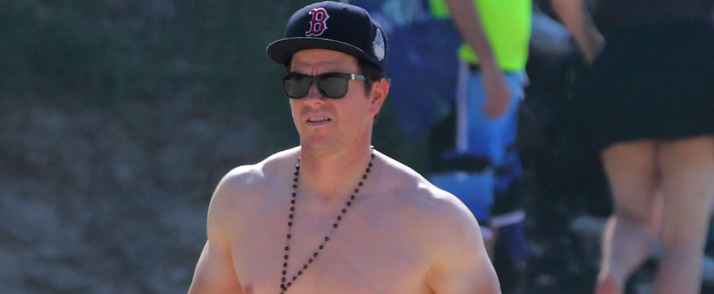 Mark Wahlberg Still Manages to Look Hot, Even With a Serious Farmer's Tan