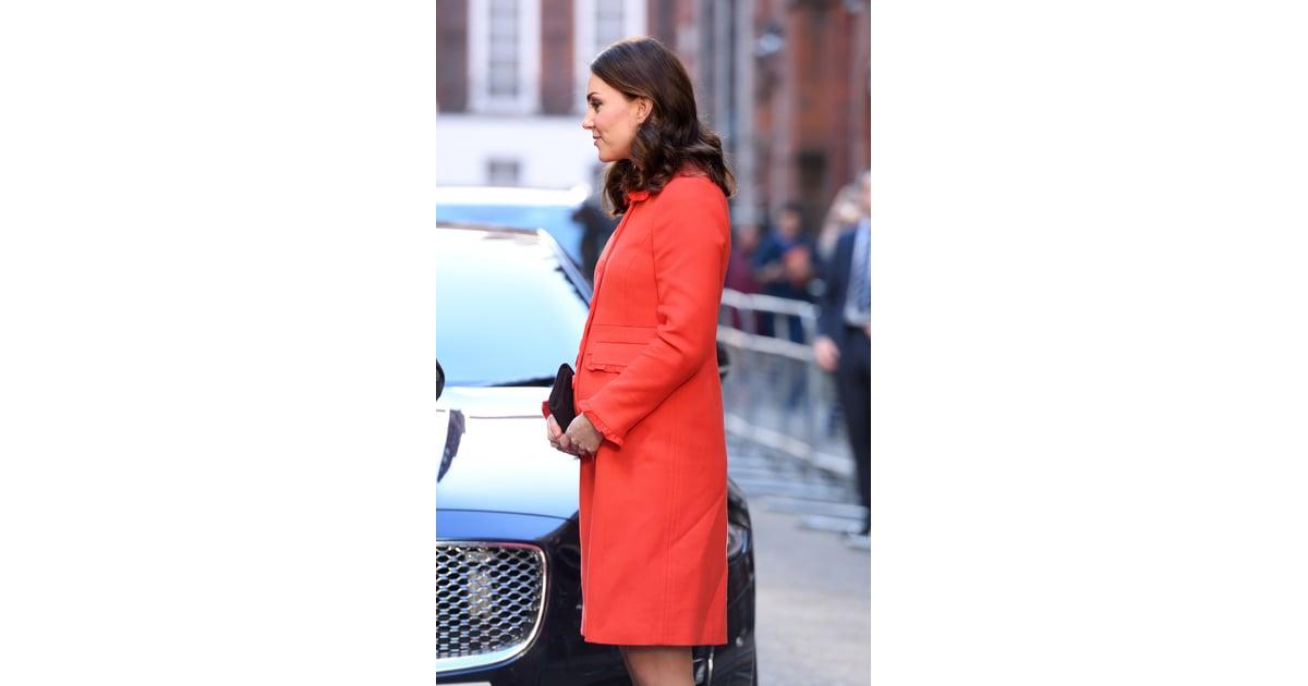 Kate middleton red boden coat popsugar fashion australia for Boden fashion deutschland