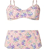 Loveshackfancy Cassandra Floral-Print Bikini Top and Mason Floral-Print Bikini Briefs