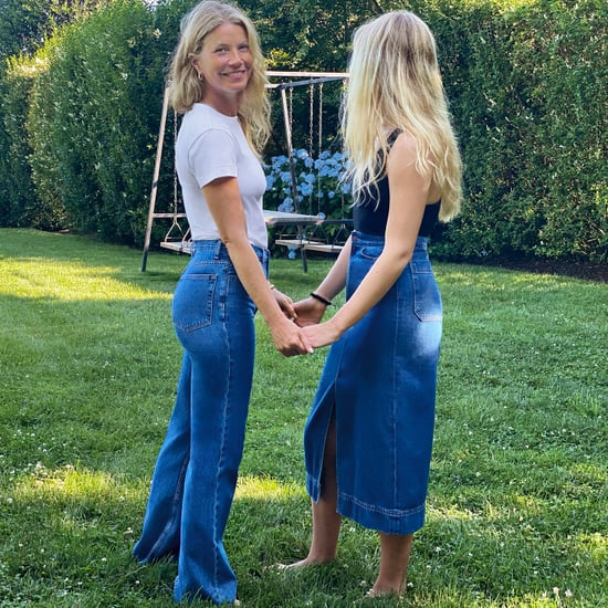 Gwyneth Paltrow and Daughter Apple in Goop G.Label Photos