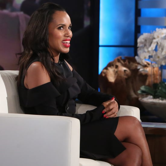 Kerry Washington Talks About Kids on Ellen DeGeneres 2017