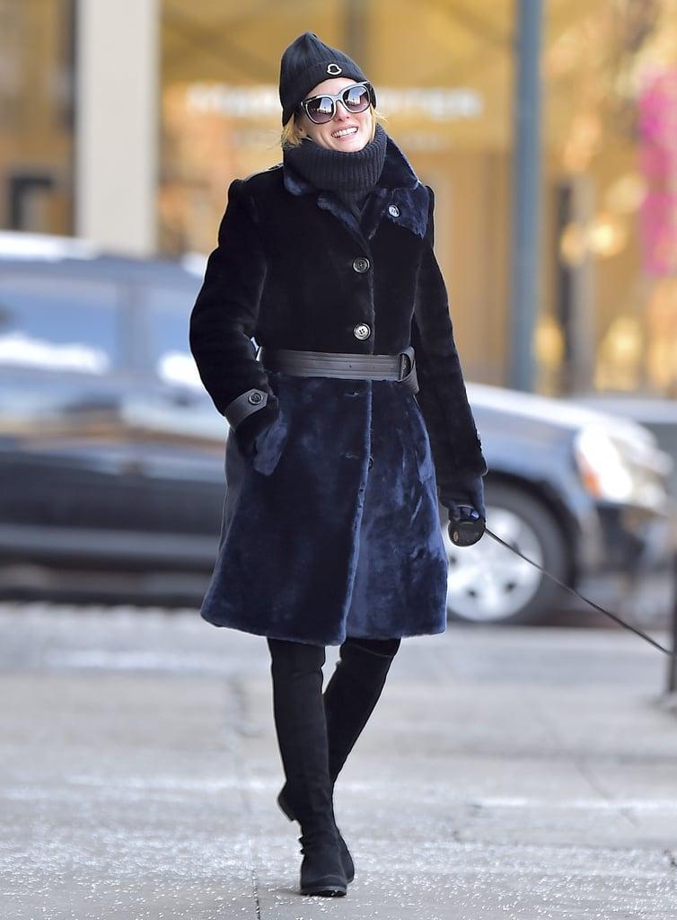 Fur (or Faux Fur) Coat