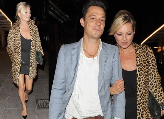 Photos of Jamie Hince and Kate Moss Out For Dinner Together In London