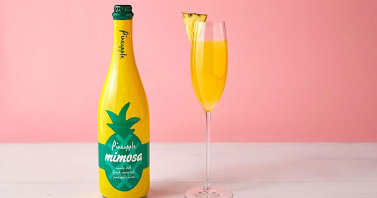 Mark Your Calendars — Aldi Is Bringing Back Its $9 Bottled Mimosa in a Pineapple Flavor!