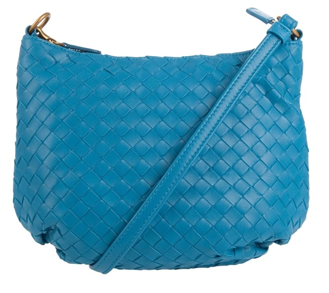 Bottega Veneta Turquoise Braided Bag