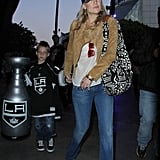 Kate Hudson checked out the LA Kings Stanley Cup finals game with son Ryder Robinson and many more stars.