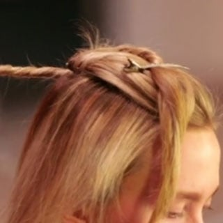 Get the Look Jon Pulitano's Woven Twist for Redken and Akira