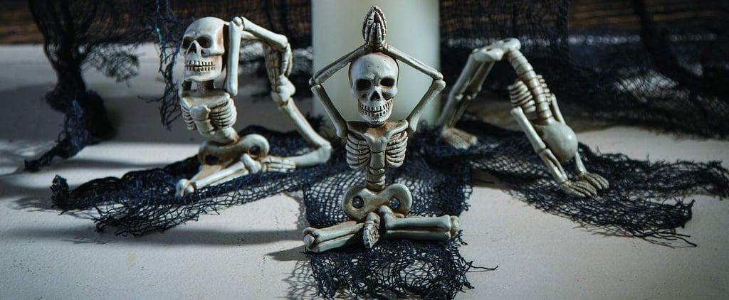 Halloween Yoga Skeletons on Amazon