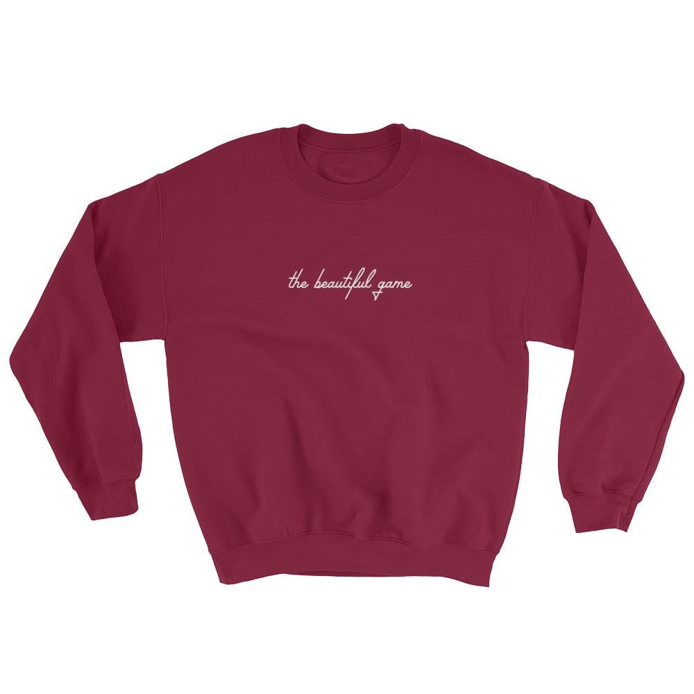 Crossbar The Beautiful Game Crewneck