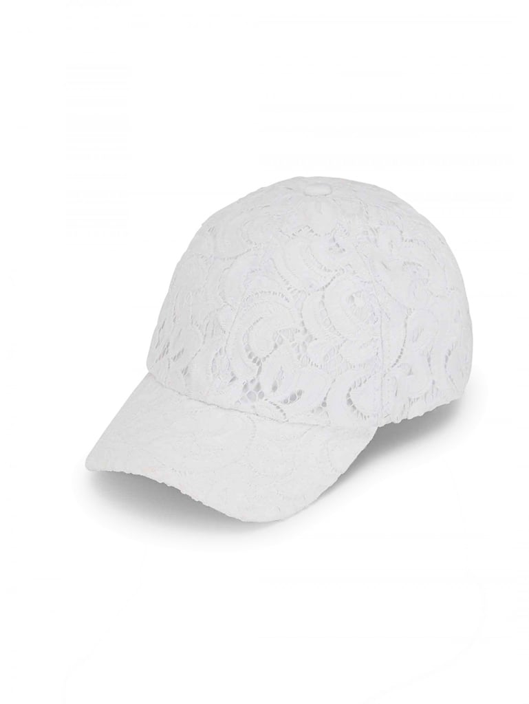 This girlie Lace Baseball Cap from Draper James ($38) is seasonless and perfect for all getaways.