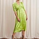 Kitri Minka Lime Tea Dress