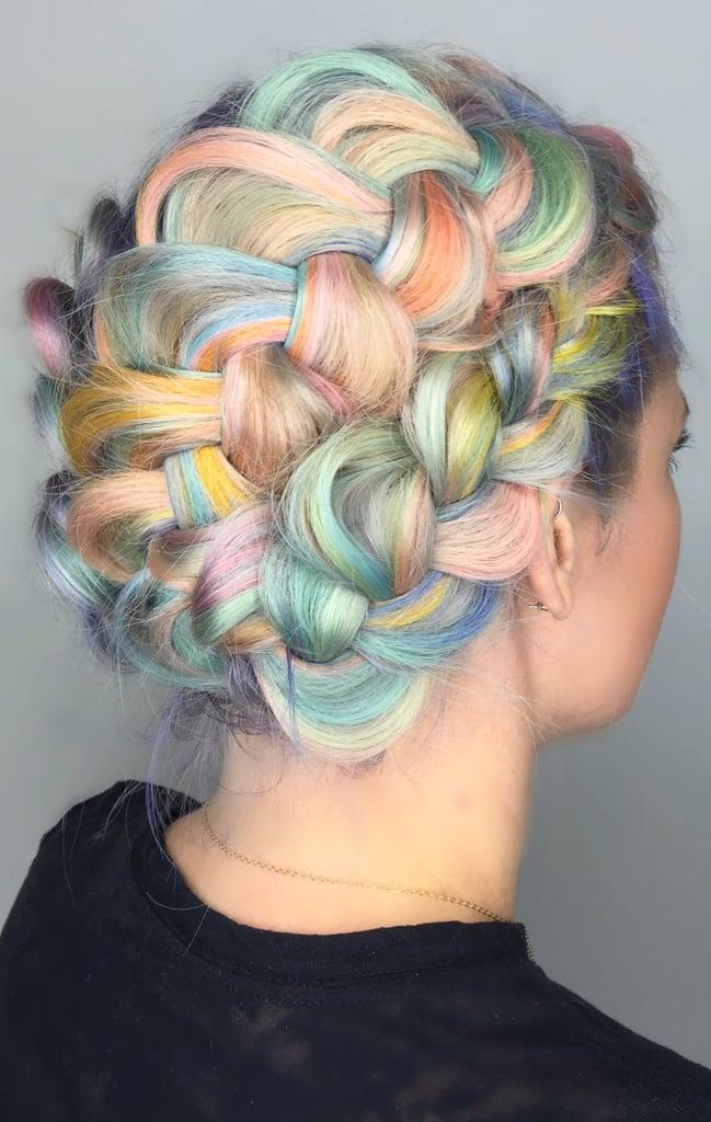 Macaron Hair Color Trend