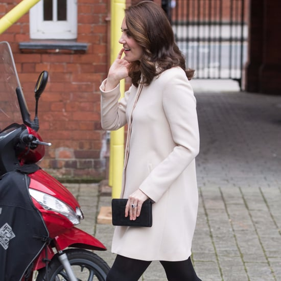 Kate Middleton's Cream Goat Coat